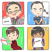 LOG_The Big Bang Theory by trudyfish