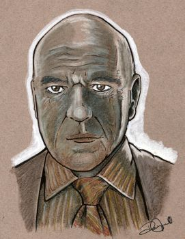 Hank Schrader Breaking Bad by coldgopher