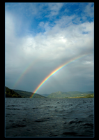Double Rainbow Coeurdalene Lk by narmansk8