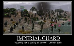 Imperial Guard by NavalAce