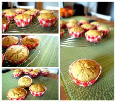 Orange Poppy Muffins by pandrina