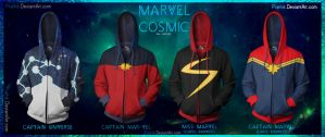 Marvel Cosmic Part II by prathik