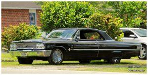 A Sharp Black Ford Galaxie Convertible by TheMan268