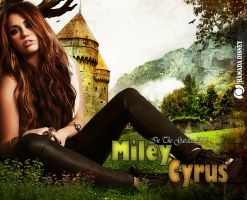 Miley Cyrus _ In The Garden 2012 by face2ook