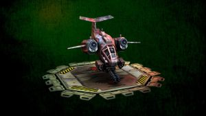 Stormtalon with platform by HellAcolyte