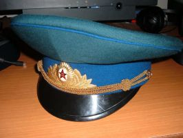 KGB Officer's Ceremonial Cap by MarkSYNTHESIS