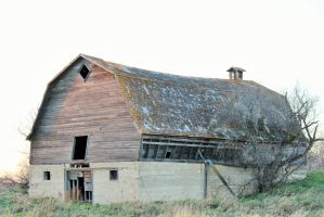 Old Abandoned Barn 8 by kaitykat99