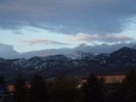 Bozeman Mountains by Boomboom34