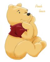 Winnie The Pooh by faustzanuff
