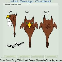 Gryphon hat by tilyd