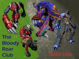 Thank you for 3000 hits by Bloody-Roar