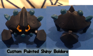 Shiny Boldore Figure Auction CLOSED