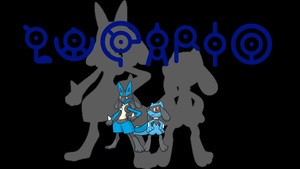 Lucario Background by JCast639