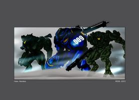 Halo Heretics_2013 by Dezarath