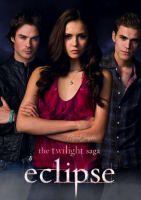 Twilight poster into The Vampire Diaries Cast by AlphaGraphicx