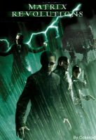 Matrix Revolutions DVD Cover by Ockeroid
