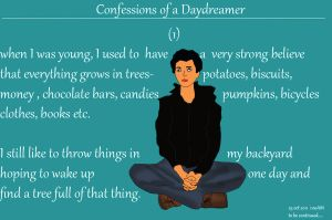 Confession of a daydreamer -1 by sumangal16
