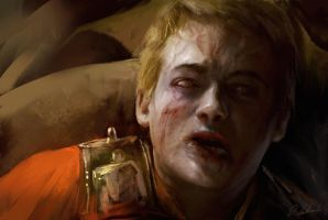 Joffrey the Zombie king by daRoz