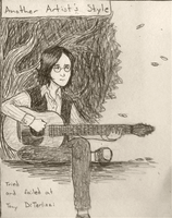 Another Style: John Lennon by SomeoneWhoDoodles