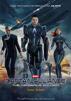 Mass Effect: Captain Alliance by TruePrince