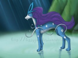 Ever watchful - Suicune by LizzyJun