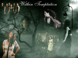 Within Temptation Wallpaper by Aravis17