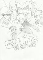 Grimjr Vs. The World by neoninz