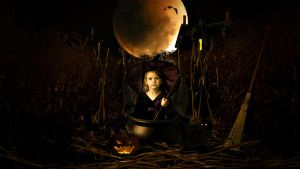 The Littlest Witch by krissybdesigns
