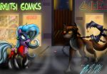 Into the Comic (Commission) by Mitsi1991