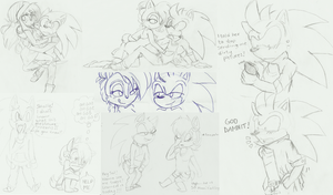 -Sonally sketch dump- by MightyMorg