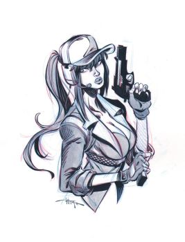 Jill by 3nrique