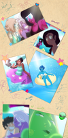 A day at the beach - Steven's Scrapbook by JoanaTiago