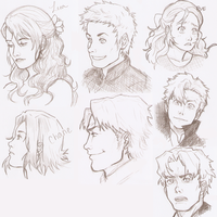 Baccano Sketches by escape-emotion