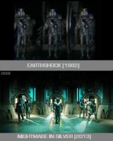 Doctor Who - Earthshock / Nightmare in Silver by DoctorWhoOne