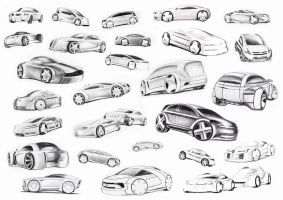 car sketches by spoon334