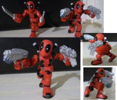 Custom Deadpool SuperHeroSquad by Deadpoolandfriends
