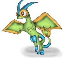 Shiny Flygon by PlagueDogs123