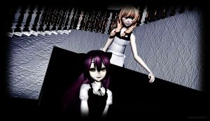{MMD x The Witch's House} Valentines Day [Day 2} by Tamachi-Insanity