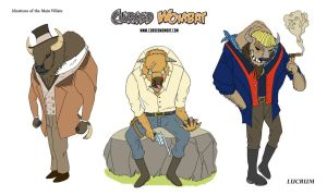 Cursed Wombat - Ideation of a Villain by ElsonWong