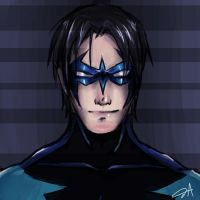 Nightwing by XxAyuNANAxX