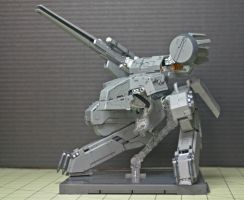 Metal Gear REX by GeneralMechanics