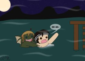 It's the lake monster by Kingdom-Hearts-Yaoi