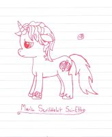 My Pony OC by uhnevermind