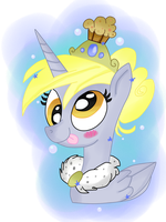 ( MLP ) Princess Derpy Hooves Collab by KrazyKari