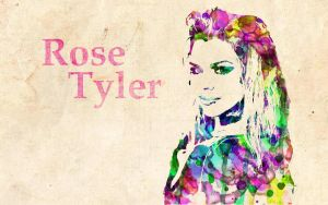 Rose Tyler: Watercolor by ElijahVD