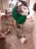 Gogoat Quadsuit WIP by midnight-fang