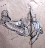 life drawing - 1 by Meliss
