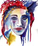 Abstract Portrait by pcoyne