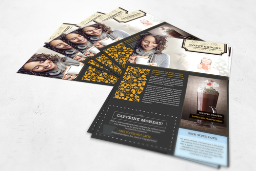 Free Flyer Design 00001_Coffee Shop by graphicloots