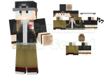 MBaerStudios Minecraft Skin Commission by Saku-Senpai